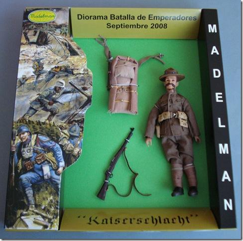 AMERICANOS (1)  I  GUERRA M. Escala 1/10 madelman custom