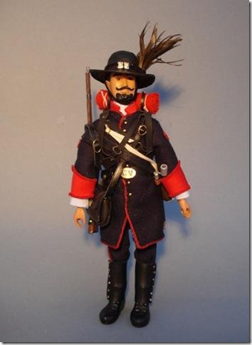 Español En La Guerra Civil Americana. 39º De Nueva York Escala 1/10 madelman custom