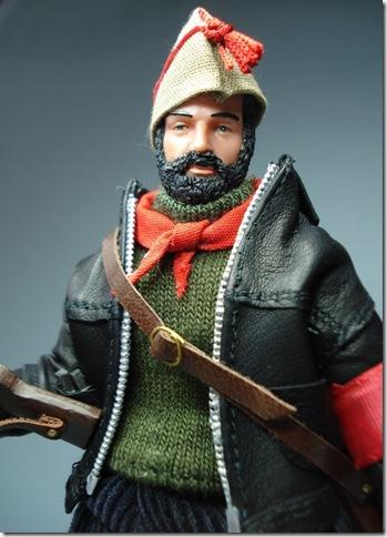 Jefe de Milicias POUM  Aragon 1936 escala 1/10 madelman custom
