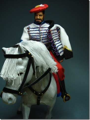 Húsar de Arlaban (1ª Guerra Carlista 1833-1840) Escala 1/10 madelman custom