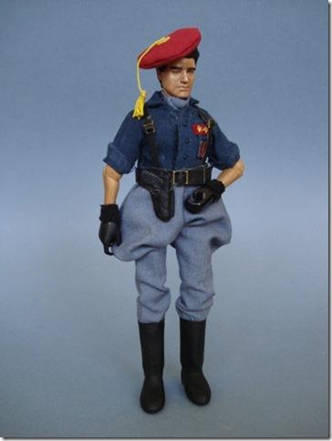 Teniente de Milicias de la Falange Española, Escala 1/10 madelman custom
