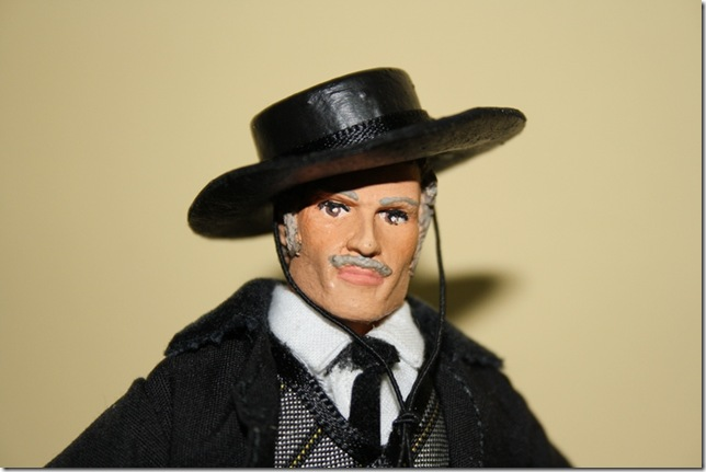 LEE VAN CLEEF (EL MALO) Escala 1/10 madelman custom