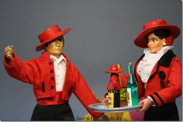 TIO PEPE – Escala 1/10 figura articulada madelman custom