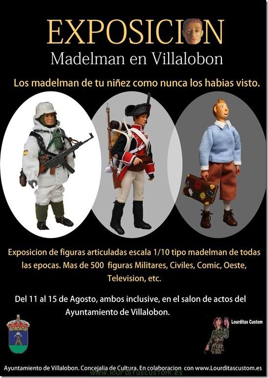 EXPOSICION MADELMAN CUSTOM VILLALOBON (Palencia)