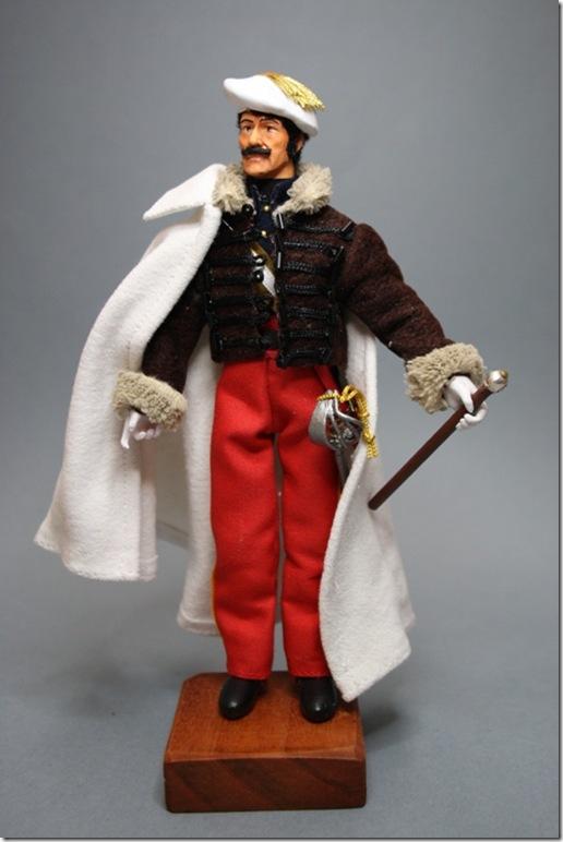 """GENERAL RAMON CABRERA """"EL TIGRE DEL MAESTRAZGO"""" 1806/77 – GUERRAS CARLISTAS – Figura articulada Escala 1/10 madelman custom"""