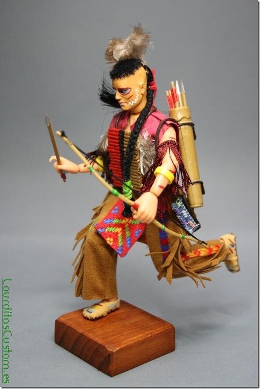 INDIO TASUNKA-WITKO Figura articulada Escala 1/10 madelman custom
