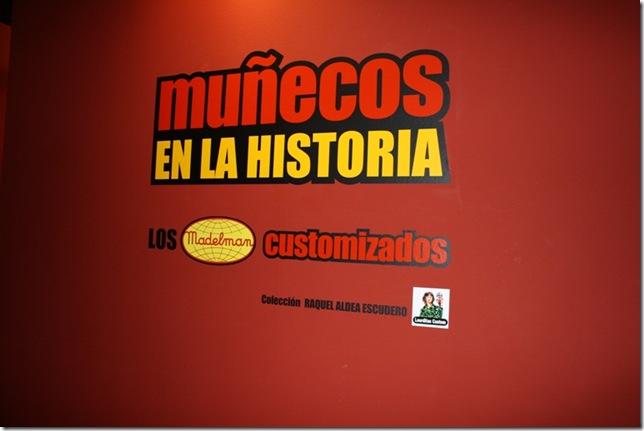 """EXPOSICION """"MUÑECOS EN LA HISTORIA"""" VISTAS GENERALES"""