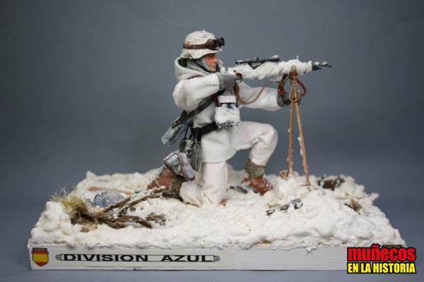 FRANCOTIRADOR DE LA DIVISION AZUL – Figura articulada Escala 1/10 madelman custom