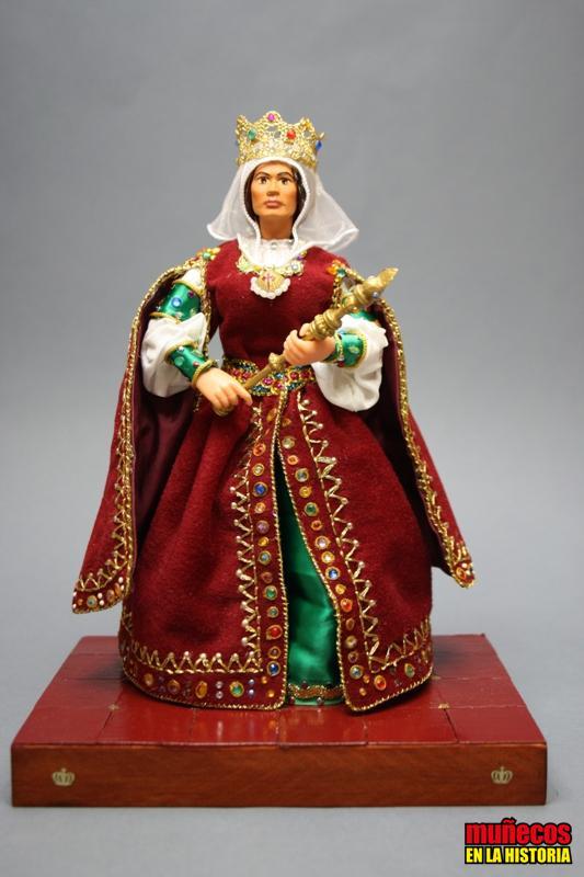 ISABEL I  LA CATÓLICA, REINA DE CASTILLA – Figura articulada Escala 1/10 madelman custom