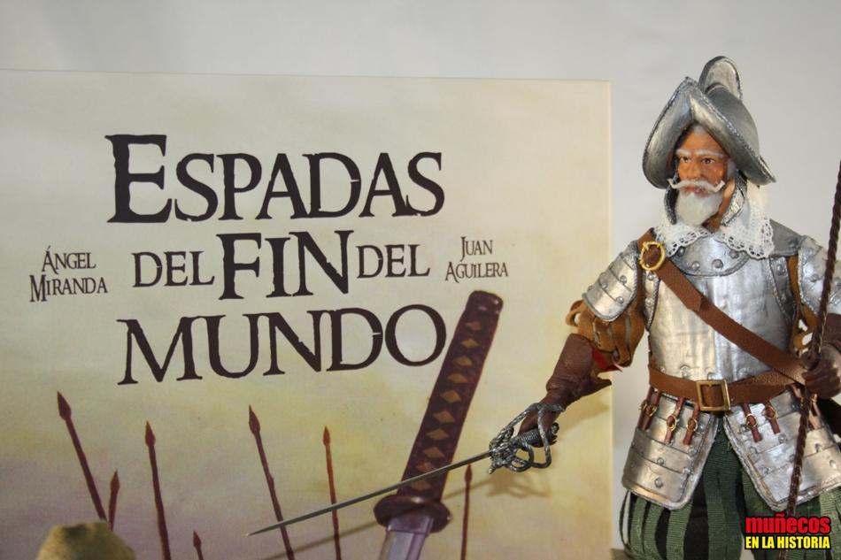 """ESPADAS DEL FIN DEL MUNDO"" – Figura articulada Escala 1/10 madelman custom"
