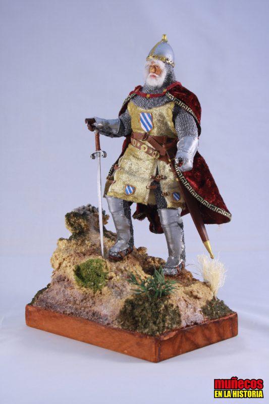 ROGER DE LAURIA,  1250-1305  – Figura articulada Escala 1/10 madelman custom