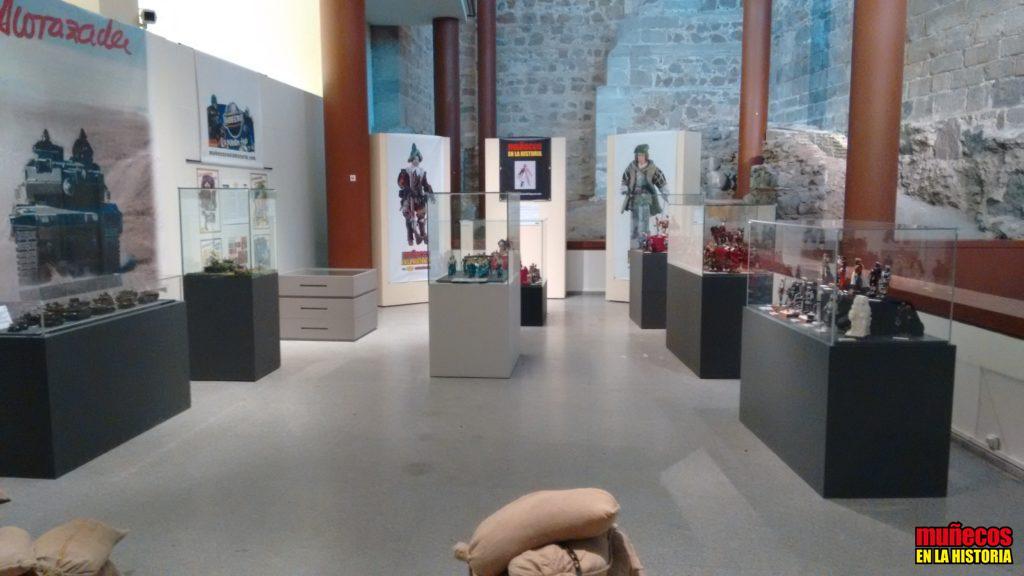 """EXPOSICION """"NUEVAS TENDENCIAS EN LOS JUGUETES MILITARES"""" – MUÑECOS EN LA HISTORIA EN EL MUSEO DEL EJERCITO"""