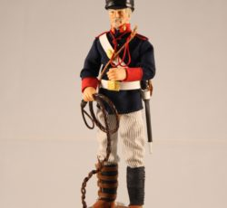 ARTILLERO CONDUCTOR TRONQUISTA, SECC. MONTADAS CAMP. 1902 -madelman custom