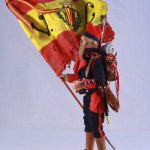 VOLUNTARIO CATALÁN EN LA BATALLA DE TETUÁN 1860 – madelman custom