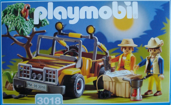 3018 jeep safari playmobil meyme. Black Bedroom Furniture Sets. Home Design Ideas