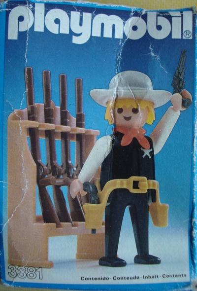 3381 SHERIFF CON ARMERO
