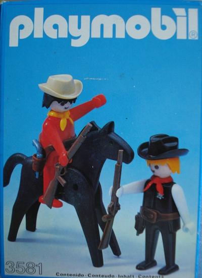 3581 SHERIFF Y AYUDANTE A CABALLO