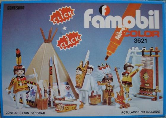 3621 FAMILIA INDIA – FAMOBIL COLOR