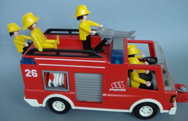 3880 camion de bomberos playmobil meyme - Playmobil camion ...